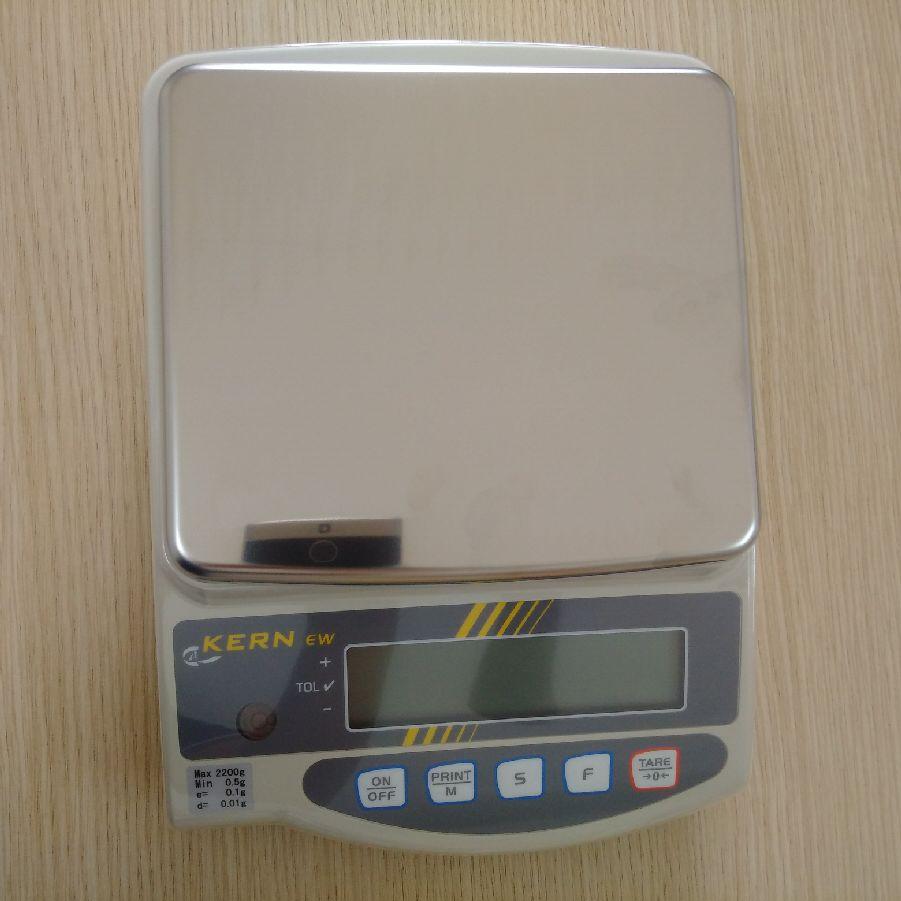 Cân kỹ thuật điện tử 2200g/0,01g