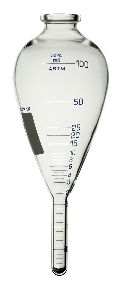 Ống li tâm 100 ml theo tiêu chuẩn ASTM D96