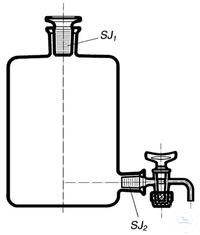 Bình đựng nước cất 5L có vòi